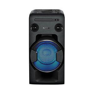 photos of Sony MHC V11 Leistungsstarkes One Box Soundsystem (470 Watt Ausgangsleistung, Mega Bass, FM Radio, CD, USB, Bluetooth, NFC) Schwarz Handbuch Kaufen   model CE