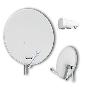 photos of Opticum QA80 Sat Antenne (Aluminium, Inkl. Opticum Single LNB   LSP 02G) Lichtgrau Mit Rabatt Kaufen   model CE