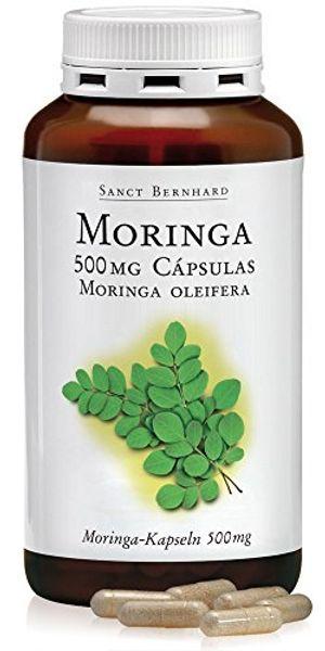 Moringa 500mg - 240 Cápsulas antes de compra