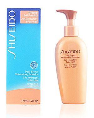 Shiseido - Daily Bronze - Emulsión hidratante para mujer - 150 ml ofertas Especiales