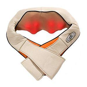 Top Masajeador de cuello y hombro Stoga Classic Shiatsu Masajeador cervical con intensidad de atenuación y función térmica Para la relajación del dolor muscular y la firmeza Hot oferta
