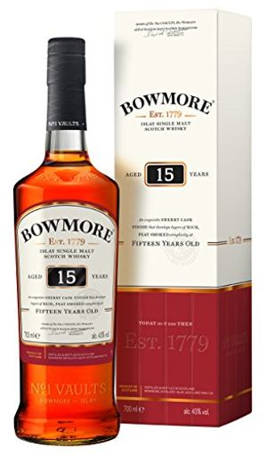 Review for bowmore islay single malt scotch whisky 15 jahre 1 x 07 l