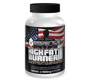 BBGenics, HighFat Burner III con inositol, para quemar grasa rápido, 100 comprimidos Con Descuento