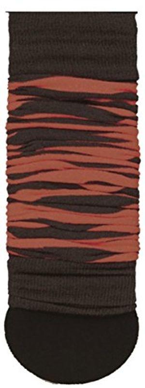 krautwear® damen beinwärmer arm stulpen legwarmers geringelt einfarbig gestrickte strümpfe 80er 90er jahre 1980er jahre pink lila grün schwarz weiss braun schwarz braun
