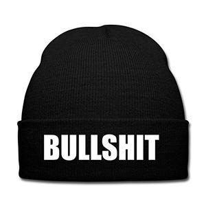 Angebote für -spreadshirt bullshit wintermütze schwarz
