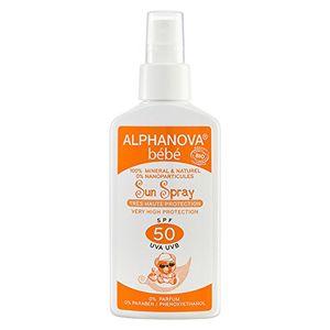 Alphanova - Crema solar bebe f50 bio spray ofertas Especiales