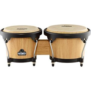 deals for - nino percussion nino3nt bk holzbongo kessel natur hardware schwarz