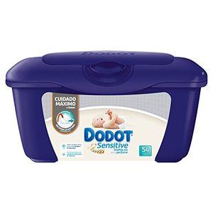 ofertas para - dodot sensitive caja de para bebé 54 toalitas pack de 6 total 324 toalitas