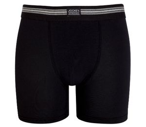 jockey® herren cotton stretch boxer trunk 3er pack 17301733 schwarz größe l
