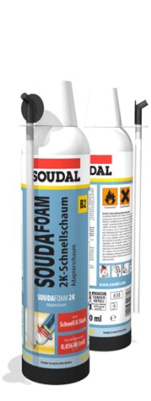 deals for - soudafoam 2k b2 400ml adapteraufsatz spar set 3
