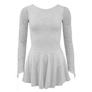 deals for - starlite flexuous white zoe dress with lycra skirt large adult 5