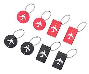 deals for - faylapa kofferanhänge gepäckanhänger gepäck etiketten koffer id tags etiketten 8er