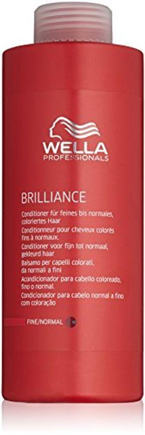 Wella - Brilliance - Acondicionador para cabello coloreado, fino o normal - 1000 ml con el envío libre