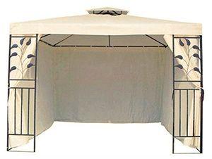 photos of 4 Seitenteile Seitenwände Für 3x3 M Metall Pavillon Beige Vatertag  Kaufen   model Lawn & Patio