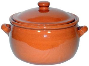 Hot amazing cookware natural terracotta 5 liter schmortopf