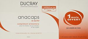 Ducray Anacaps Triactiv, Capsulas, 90 unidades ofertas especiales