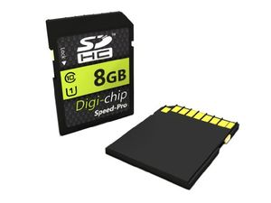 photos of Digi Chip 8GB UHS 1 CLASS 10 SDHC Speicherkarte Für Fuji Finepix S4200, S4500, SL240, SL300, S8300, S8500, S8200, SL1000, S4800, S8400W, S9400W, S9200, S8600, S1, T400, T550, T500, XP150, Kaufen   model Photography