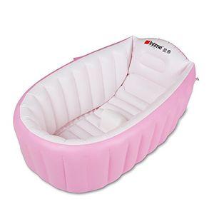 ofertas para - intime inflable bebé bañera ducha del bebé niños de hidromasaje para 0 3 años rosa