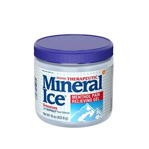 ofertas para - mineral ice therapeutic pain relieving gel 16 ounce jar