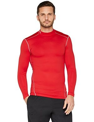 under armour herren ua cg armour mock fitness sweatshirts redsteel s