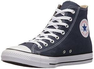 converse chuck taylor all star unisex erwachsene hohe sneakers blau navy blue 39 eu