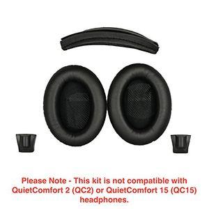 Hot ersatz ohrpolster und ersatz kopfbandkissen für bose around ear 2 ae2 around ear 2 wireless ae2w und soundtrue around ear 1 kopfhörer schwartz nicht kompatibel mit bose soundtrue around ear 2 bose qc2qc15 bose qc3 und bose soundlink kopfhörer
