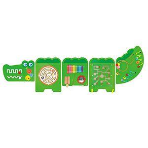 Cheap viga toys wandspiel krokodil