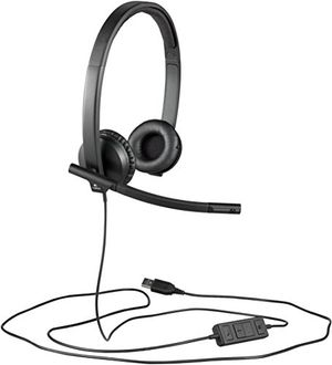 Cheap logitech h570e stereo headset usb