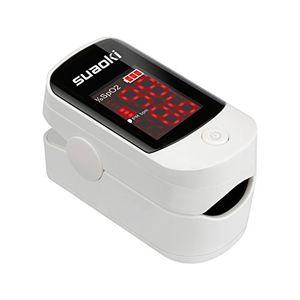 Reseña Suaoki - Pulsioxímetro de Dedo Oxímetro Pulsómetro Digital Portátil (Pantalla LED, Medidor de Sangre Oxígeno, Frecuencia Cardíaca, Para Adultos y Niños, con Caso Protector) Guía