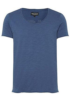 chiemsee herren vintage style mit rückenprint t shirt 681 dark denim m