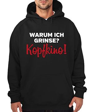 deals for -  warum ich grinsekopfkino boys kapuzenpullover schwarz größe 3xl sale v