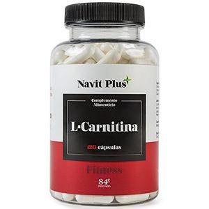 L CARNITINA de Navit Plus, Complemento alimenticio natural para la pérdida de peso y potente quemador de grasa deportivo. Ofrece un mayor aporte de energía y resistencia. Aminoácidos deportivos. 120 cápsulas. Hot oferta