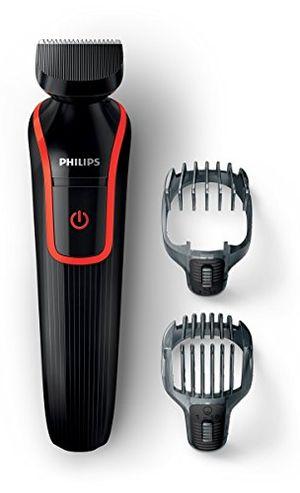 Reseña Philips Multigroom 1000 QG410/16 - Recortador y barbero, 2 peines, 18 posiciones de longitud, color negro antes de compra