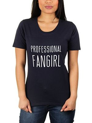 professional fangirl damen t shirt von kater likoli gr m french navy