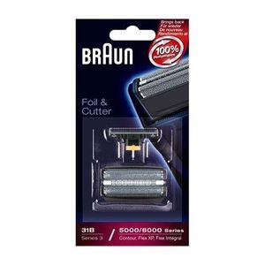 Braun- Juego de láminas de recambio y portacuchillas para afeitadoras Braun Series 5414, 5610, 5612, 360, 380, 5877, 5775, 5770 y 31B comparación