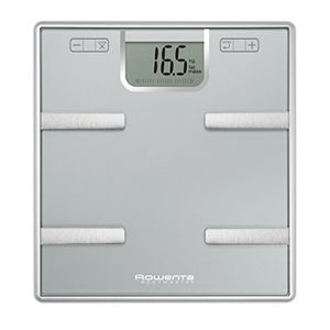 ofertas para - rowenta silver bodymaster bascula de grasa corporal cristal con capacidad hasta 160 kg apagado automatico