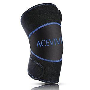 ofertas para - guisee paquete de hielo para rodilla rodilla apoyo brace con gel pad para caliente y frío terapia lavable y reutilizable