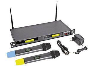 deals for - funk mikrofonsystem uhf 2x8 kanal micw41 mit 2 funk mikrofonen