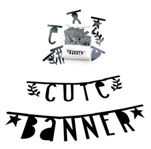Review for a little lovely company buchstabengirlande letter banner schwarz 138 buchstaben zahlen symbole