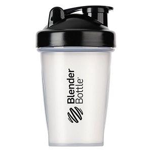 ofertas para - blenderbottle classic botella de agua y mezcladora color negro transparent 590 ml