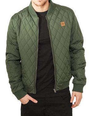 Top urban classics herren jacke diamond quilt nylon jacket