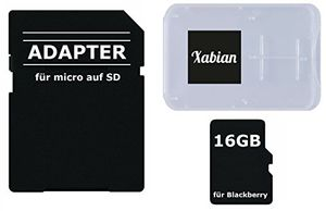 photos of 16GB MicroSD SDHC Speicherkarte Für Blackberry Smartphones Mit SD Adapter Und Memorycard Box Einkaufsführer Kaufen   model Computer & Zubehör