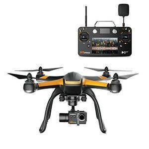 hubsan jyz drohne x4 pro h109s quadcopter mit 2mp 1080p fhd kamera smart fernbedienung mit 7 zoll touch lcd 3 achsen gimbal rth höhe halten drohne