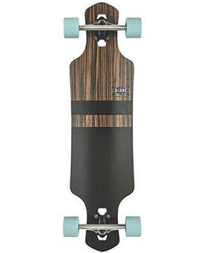 deals for - globe geminon 35 complete longboard ebonyblack by globe