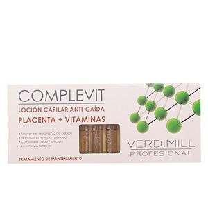 Cheap Verdimill Profesional - Complevit Loción Capilar Anti-Caída - Placenta + Vitaminas - 12 ampollas x 10 ml guía del comprador