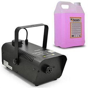 Angebote für -beamz s900 nebelmaschine mit fernbedienung 5 liter nebelflüssigkeit pink 900 watt 200m³min nebelausstoß 4 meter ausstoß reichweite 8 minuten aufheizzeit schwarz