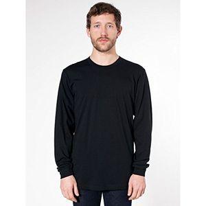 Review for american apparel unisex longsleeve t shirt mit rundhalsausschnitt langarm large schwarz