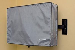Cheap 58 60 65 zoll vizomax tv abdeckung fernseher abdeckung für außen und innenanwendung staub und wasserfest tv schutz für hdtv lcd led und plasma tv displayschutz