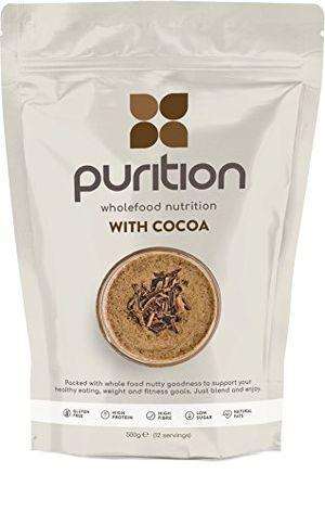 Calientes Batido de proteínas de chocolate (500g). Ideal para perder peso & recuperación post-ejercicio – sustituto de comida 100% natural – Batido para el desayuno ofertas especiales