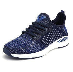 deals for - unisex sportschuhe atmungsaktives mesh wander belüftung trekking wanderhalbschuhe sneakers outdoorschuhe casual schuhe sommerschuhe 40 eu farbe blau